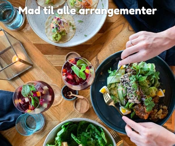 Mad til alle arrangementer