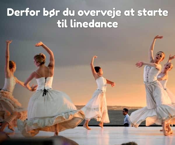 Derfor bør du overveje at starte til linedance