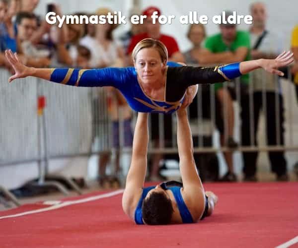 Gymnastik er for alle aldre