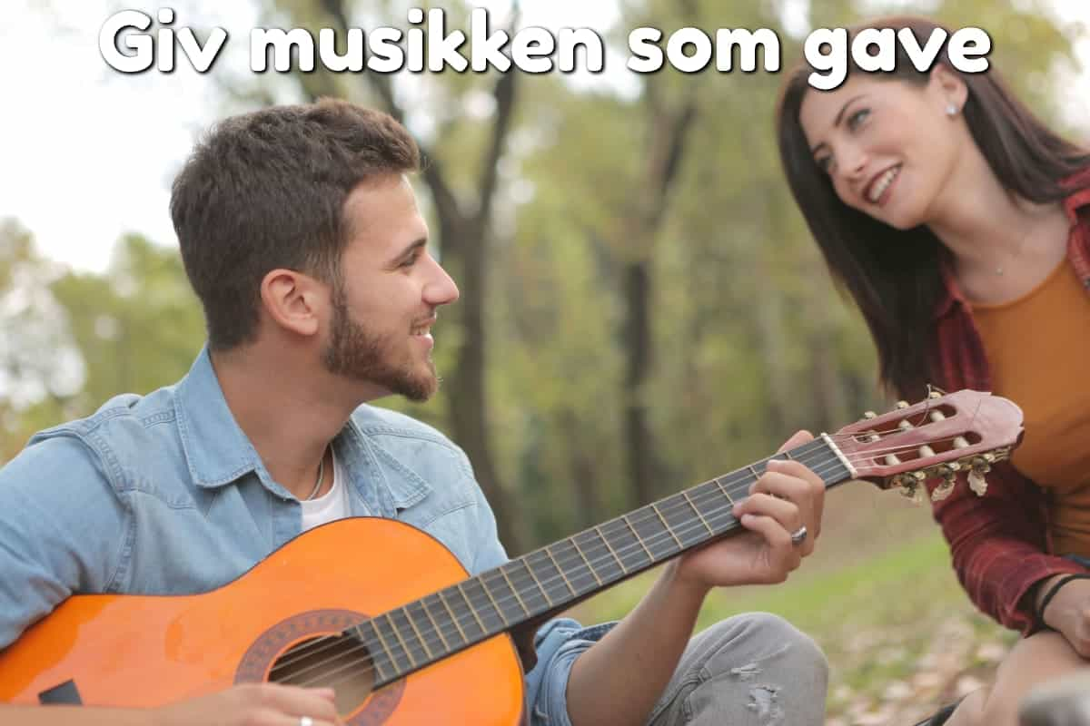 Giv musikken som gave